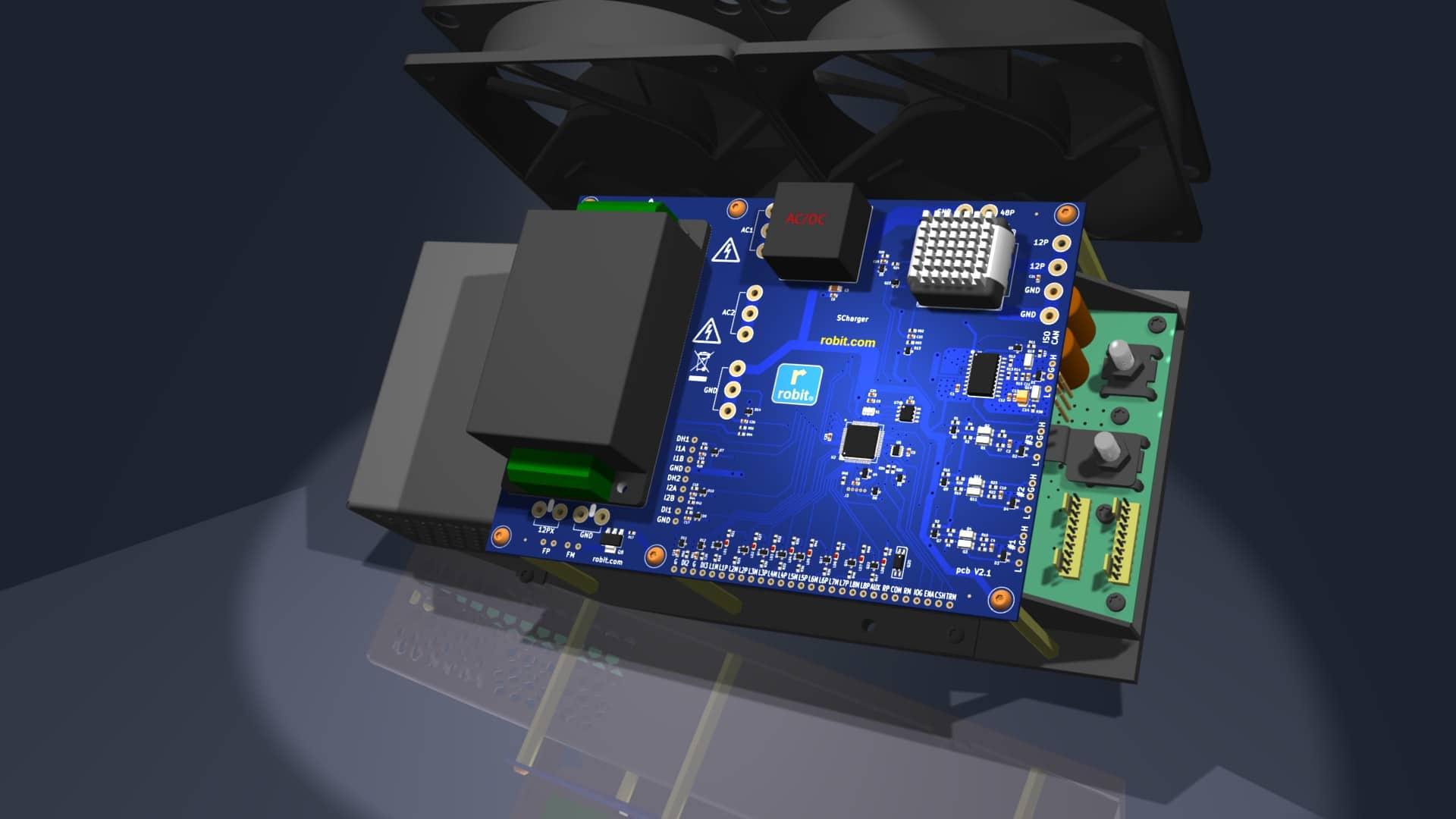 Smart Battery Li-Poly Charger-assembly