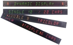 under monitor displays: dynamic umd, static umd tri-color umd